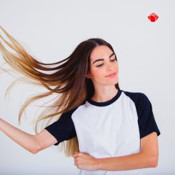 Wpływ STRESU na wypadanie włosów.